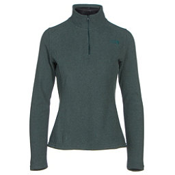 The North Face Glacier 1/4 Zip Womens Mid Layer (Previous Season), Darkest Spruce Heather, 256