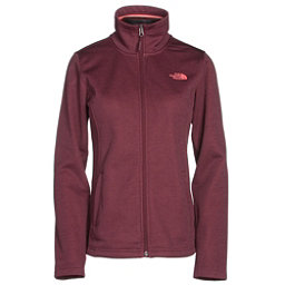 The North Face Meadowbrook Raschel Full Zip Womens Jacket (Previous Season), Deep Garnet Red Heather, 256