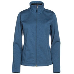 The North Face Meadowbrook Raschel Full Zip Womens Jacket (Previous Season), Shady Blue Heather, 256