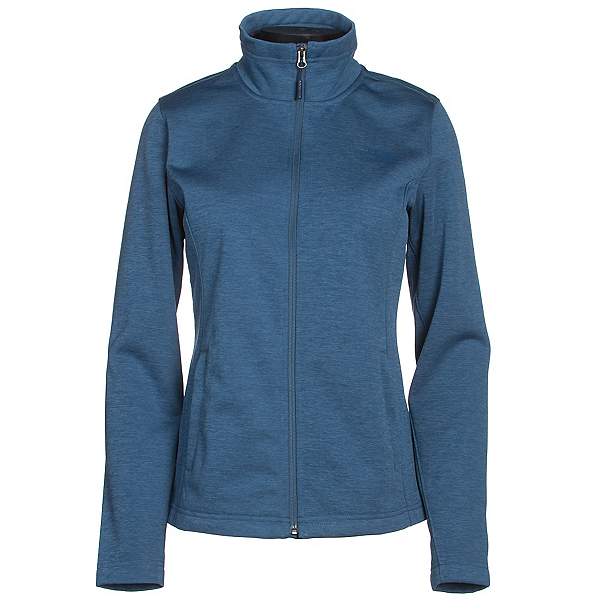 The North Face Meadowbrook Raschel Full Zip Womens Jacket (Previous Season), Shady Blue Heather, 600