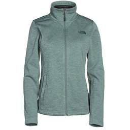 The North Face Meadowbrook Raschel Full Zip Womens Jacket (Previous Season), Balsam Green Heather, 256
