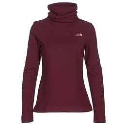 The North Face Novelty Glacier Pullover Womens Mid Layer (Previous Season), Deep Garnet Red, 256