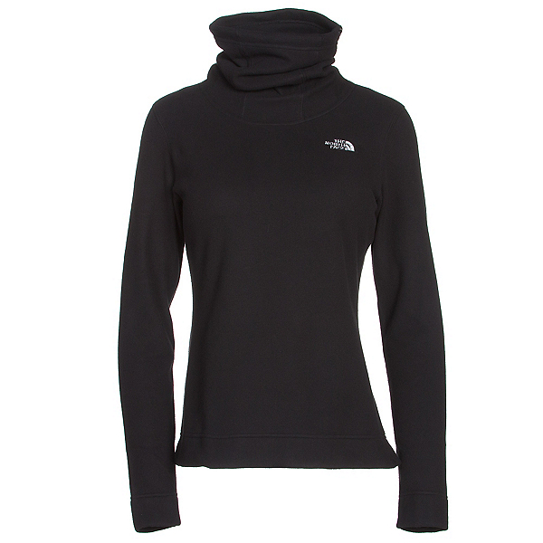 The North Face Novelty Glacier Pullover Womens Mid Layer (Previous Season), TNF Black, 600