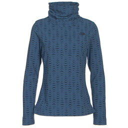 The North Face Novelty Glacier Pullover Womens Mid Layer (Previous Season), Cosmic Blue Arrows Jacquard, 256