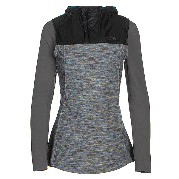 The North Face Pseudio Tunic Womens Vest (Previous Season), TNF Dark Grey Heather-TNF Blac, 600