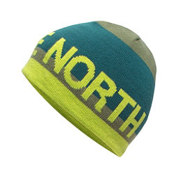 The North Face Youth Anders Beanie Kids Hat (Previous Season), Terrarium Green, 256