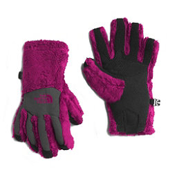 The North Face Denali Thermal Etip Girls Gloves (Previous Season), Roxbury Pink, 256