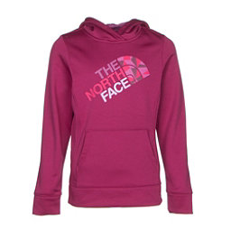 The North Face Girls Surgent Pullover Hoodie (Previous Season), Roxbury Pink, 256
