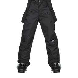 The North Face Snowquest Suspender Kids Ski Pants (Previous Season), TNF Black, 256