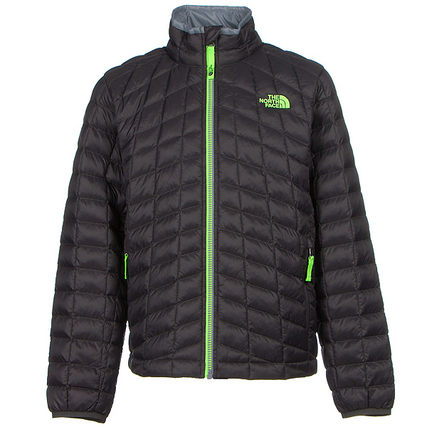 The North Face Boys ThermoBall Full Zip Jacket (Previous Season), Graphite Grey, 600