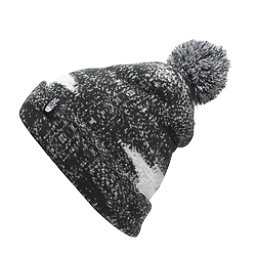 The North Face Youth Ski Tuke Kids Hat (Previous Season), TNF Black Static Print, 256
