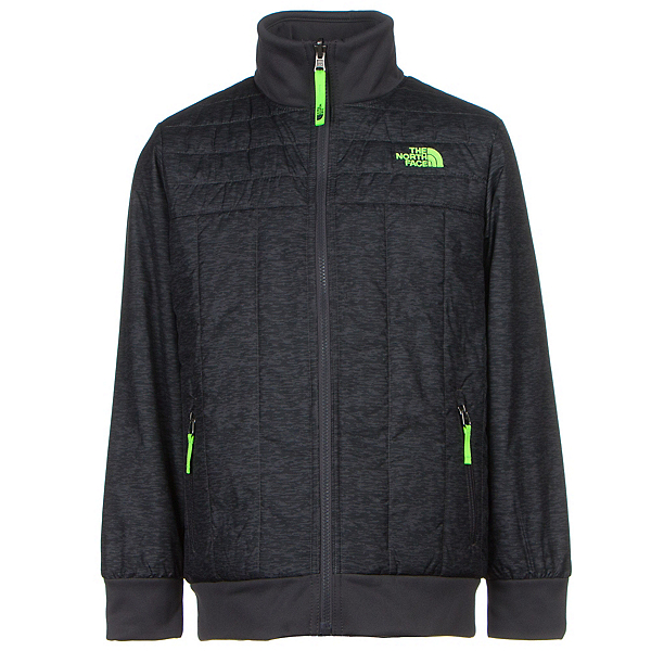 The North Face Boys Reversible Yukon Jacket (Previous Season), Graphite Grey Pixelated Heathe, 600