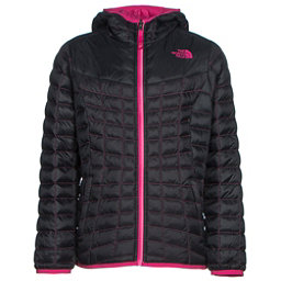 The North Face Reversible ThermoBall Hoodie Girls Midlayer (Previous Season), TNF Black, 256