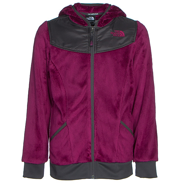 The North Face Oso Hoodie Girls Midlayer (Previous Season), Roxbury Pink, 600