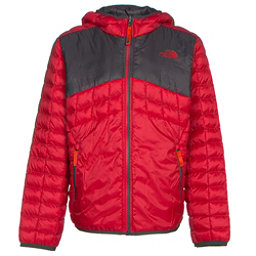 The North Face Reversible ThermoBall Hoodie Boys Midlayer (Previous Season), TNF Red, 256