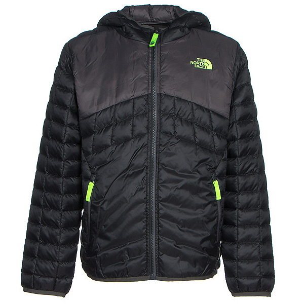 The North Face Reversible ThermoBall Hoodie Boys Midlayer (Previous Season), TNF Black, 600