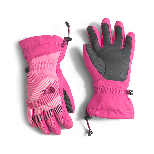 The North Face Youth Revelstoke Etip Kids Gloves (Previous Season), Cha Cha Pink-Cabaret Pink, 600