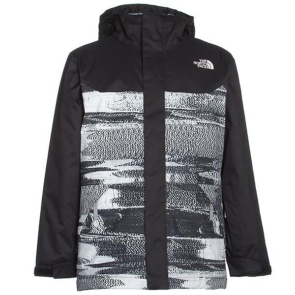 The North Face Brayden Insulated Boys Ski Jacket (Previous Season), TNF Black Static Print, 600
