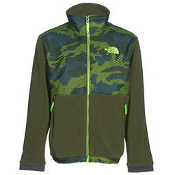 The North Face Denali Boys Jacket (Previous Season), Terrarium Green Mesh Camo, 256