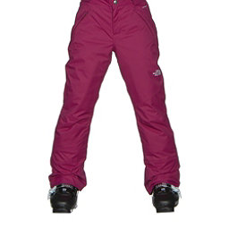 The North Face Freedom Insulated Girls Ski Pants (Previous Season), Roxbury Pink, 256