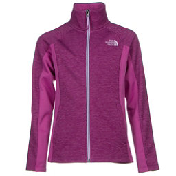 The North Face Arcata Full Zip Girls Jacket (Previous Season), Wisteria Purple Heather, 256