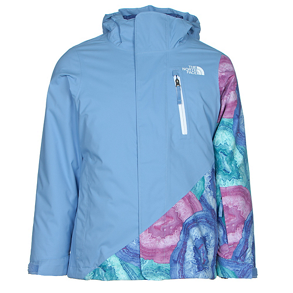The North Face Abbey Triclimate Girls Ski Jacket (Previous Season), Grapemist Blue, 600