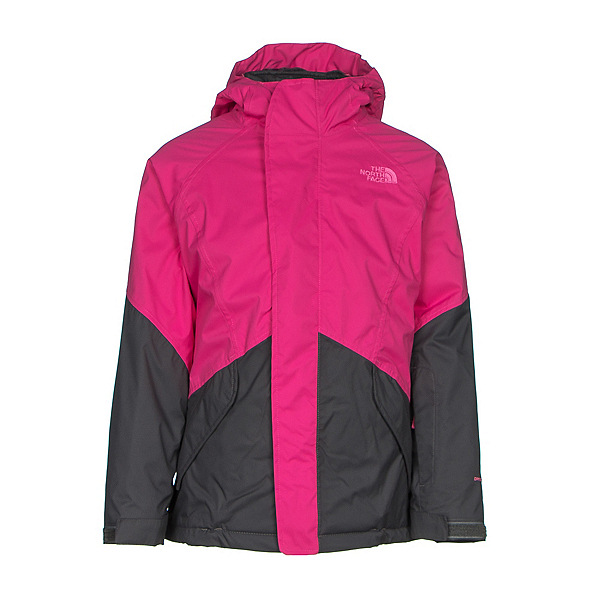 The North Face Kira Triclimate Girls Ski Jacket (Previous Season), Cabaret Pink, 600