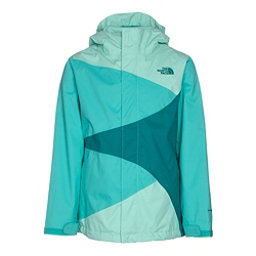 The North Face Mountain View Triclimate Girls Ski Jacket (Previous Season), Ice Green, 256