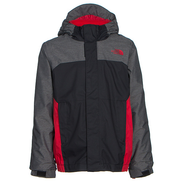 The North Face Vortex Triclimate Toddler Ski Jacket (Previous Season), TNF Black, 600