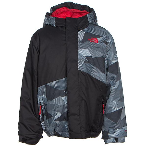 The North Face Calisto Insulated Toddler Ski Jacket (Previous Season), TNF Black Geo Camo, 600