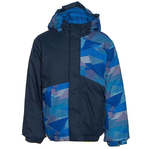 The North Face Calisto Insulated Toddler Ski Jacket (Previous Season), Jake Blue Geo Camo, 600