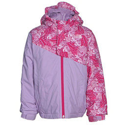 The North Face Casie Insulated Toddler Girls Ski Jacket (Previous Season), Cabaret Pink Butterfly Camo, 256