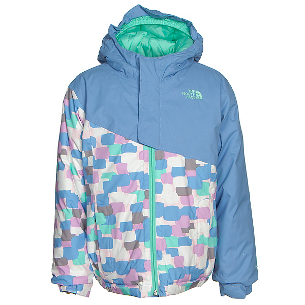 The North Face Casie Insulated Toddler Girls Ski Jacket (Previous Season), Grapemist Blue, 600