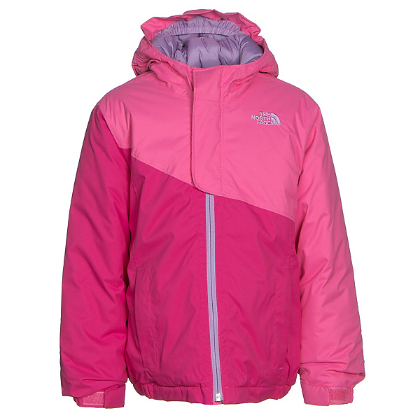 The North Face Casie Insulated Toddler Girls Ski Jacket (Previous Season), Cha Cha Pink, 600