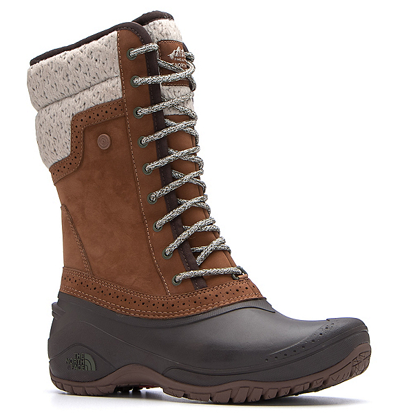The North Face Shellista II Mid Womens Boots (Previous Season), Dachshund Brown-Demitasse Brow, 600