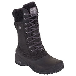 The North Face Shellista II Mid Womens Boots, TNF Black-Plum Kitten Grey, 256
