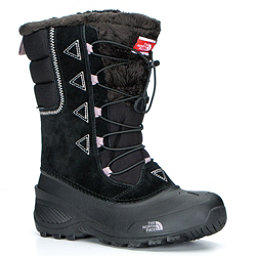 The North Face Shellista Lace II Kids Boots (Previous Season), TNF Black-Quail Grey, 256