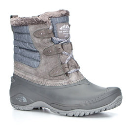 The North Face Shellista II Shorty Womens Boots, Dark Gull Grey-Cloud Grey, 256