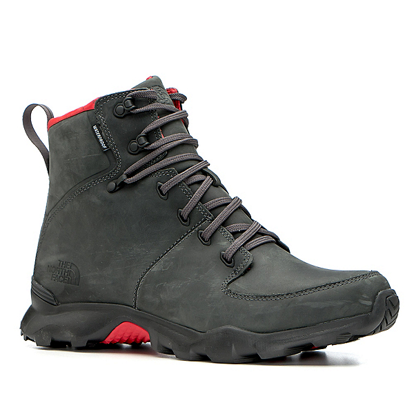 The North Face Thermoball Versa Mens Boots (Previous Season), Dark Shadow Grey-TNF Red, 600