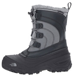 The North Face Alpenglow IV Kids Boots, Griffin Grey-Zinc Grey, 256