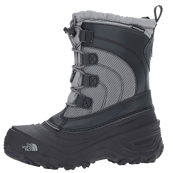 The North Face Alpenglow IV Kids Boots, Griffin Grey-Zinc Grey, 600