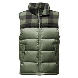 The North Face Nuptse Mens Vest (Previous Season), Duck Green-Duck Green Grizzly, 256