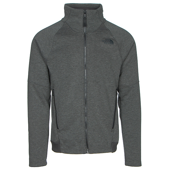 The North Face Far Northern Full Zip Mens Jacket (Previous Season), Asphalt Grey Heather-Asphalt G, 600