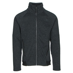 The North Face Far Northern Full Zip Mens Jacket (Previous Season), TNF Black Heather-TNF Black He, 256