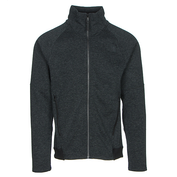 The North Face Far Northern Full Zip Mens Jacket (Previous Season), TNF Black Heather-TNF Black He, 600