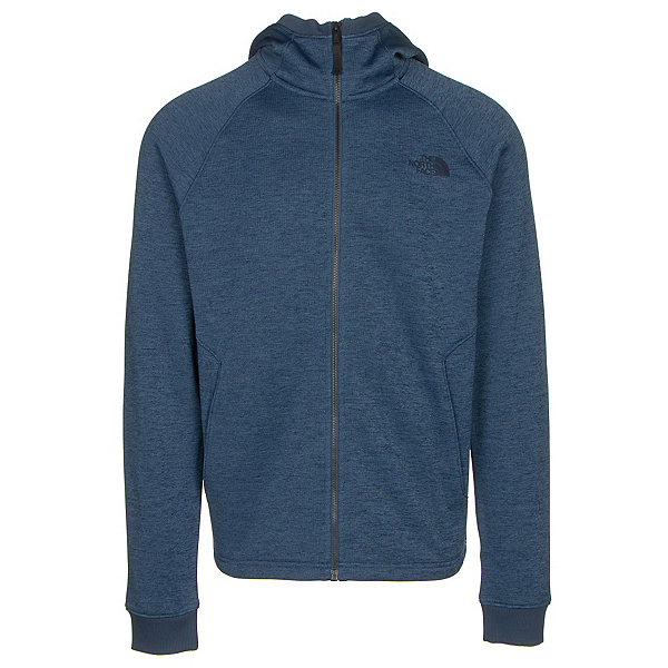 The North Face Norris Point Hoodie Mens Jacket (Previous Season), Shady Blue Heather, 600