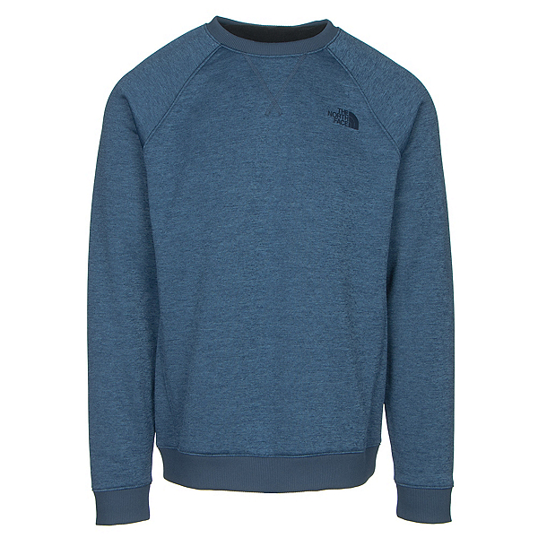The North Face Norris Point Crew Mens Sweater (Previous Season), Shady Blue Heather, 600