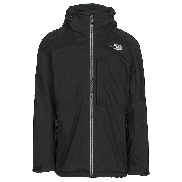 The North Face Gambit Triclimate Mens Insulated Ski Jacket (Previous Season), TNF Black, 600
