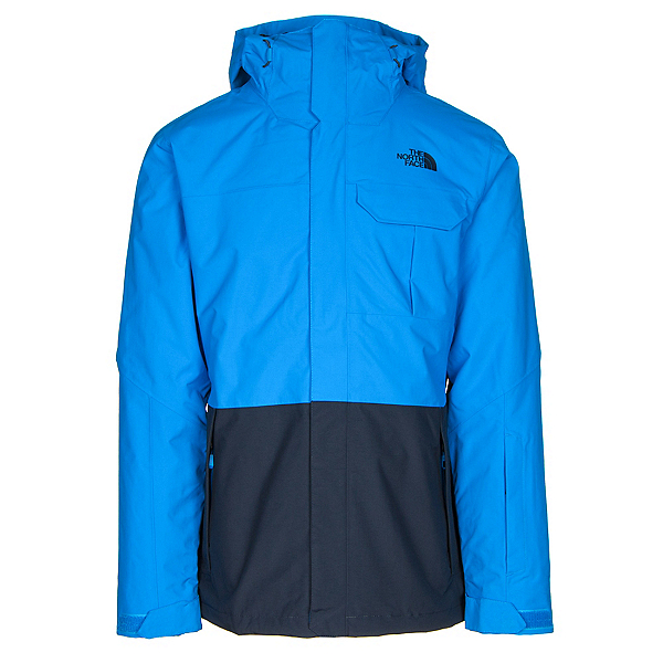 The North Face Garner Triclimate Mens Insulated Ski Jacket (Previous Season), Bomber Blue-Urban Navy, 600