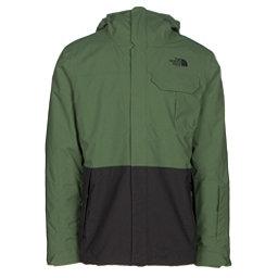 The North Face Garner Triclimate Mens Insulated Ski Jacket (Previous Season), Vista Green-Asphalt Grey, 256
